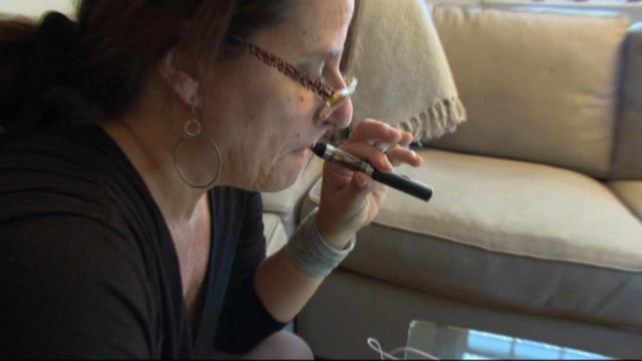 Electronic cigarettes appear to help adults quit smoking