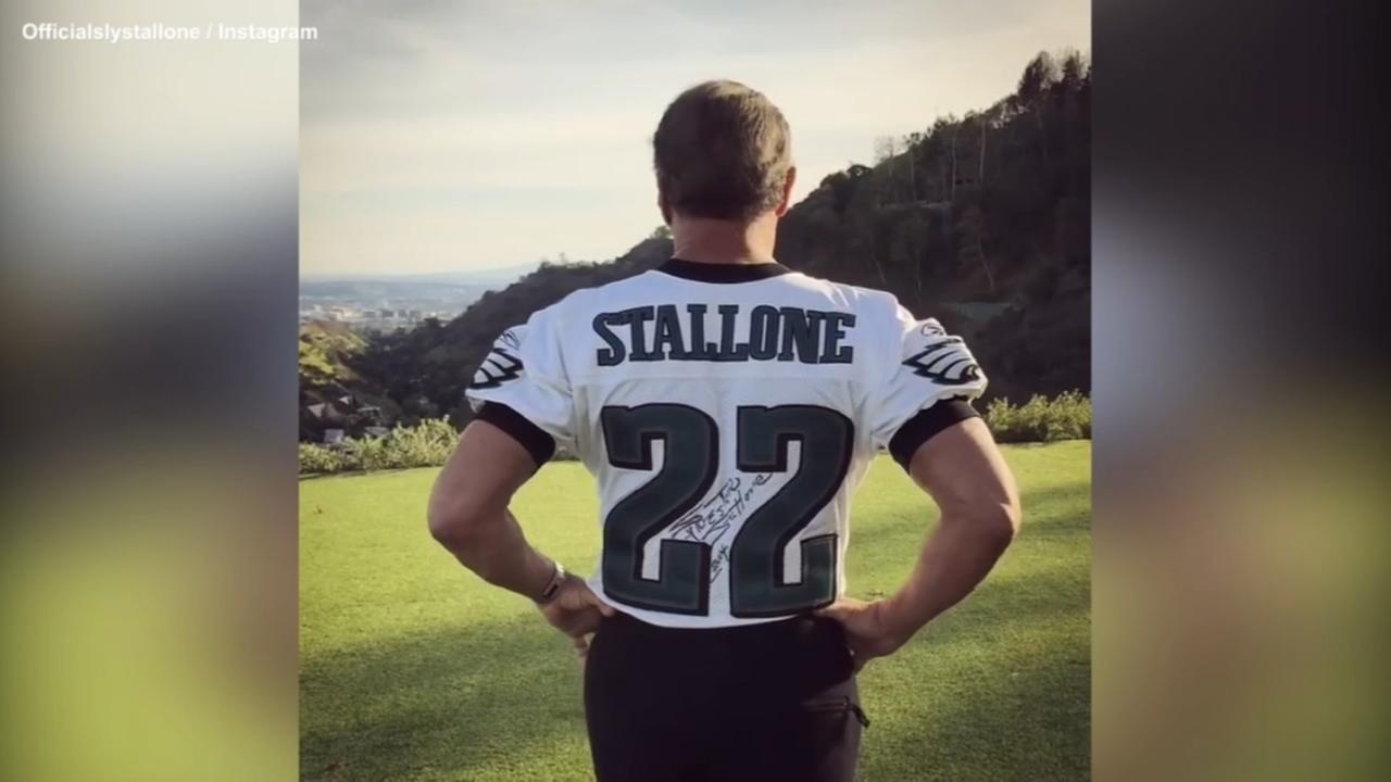 VIDEO: Sylvester Stallones message to the Eagles