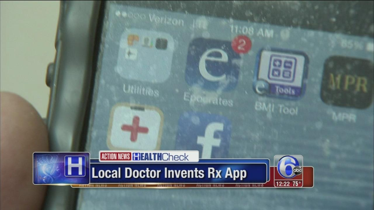 VIDEO: Healthcheck: App prevents medical mistakes