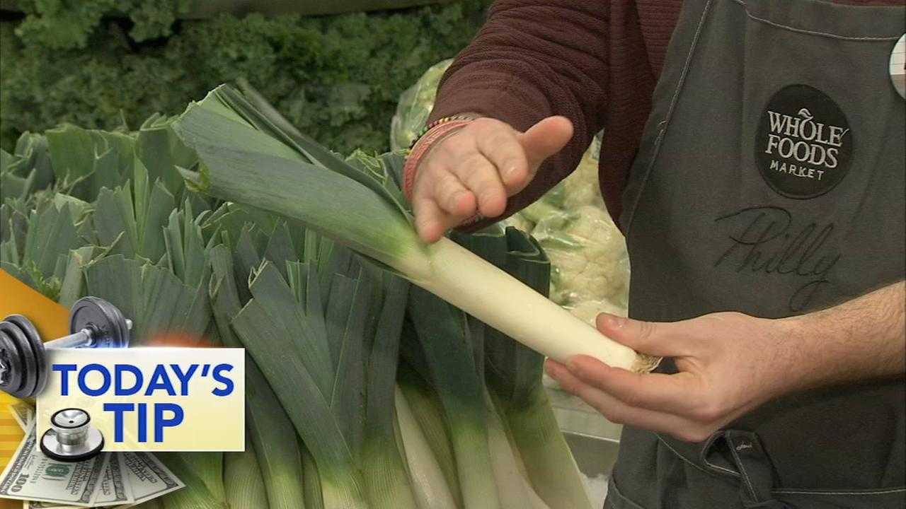 All about leeks - Todays Tip