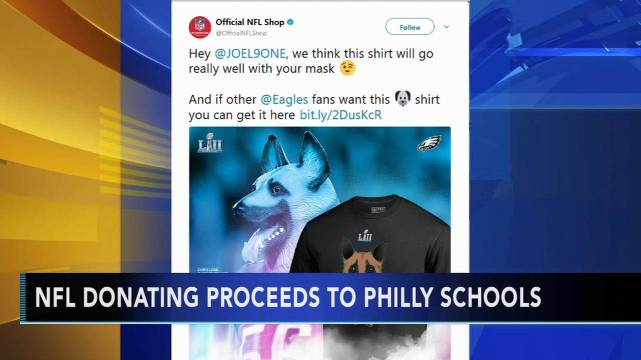 NFL donating proceeds to Philly schools