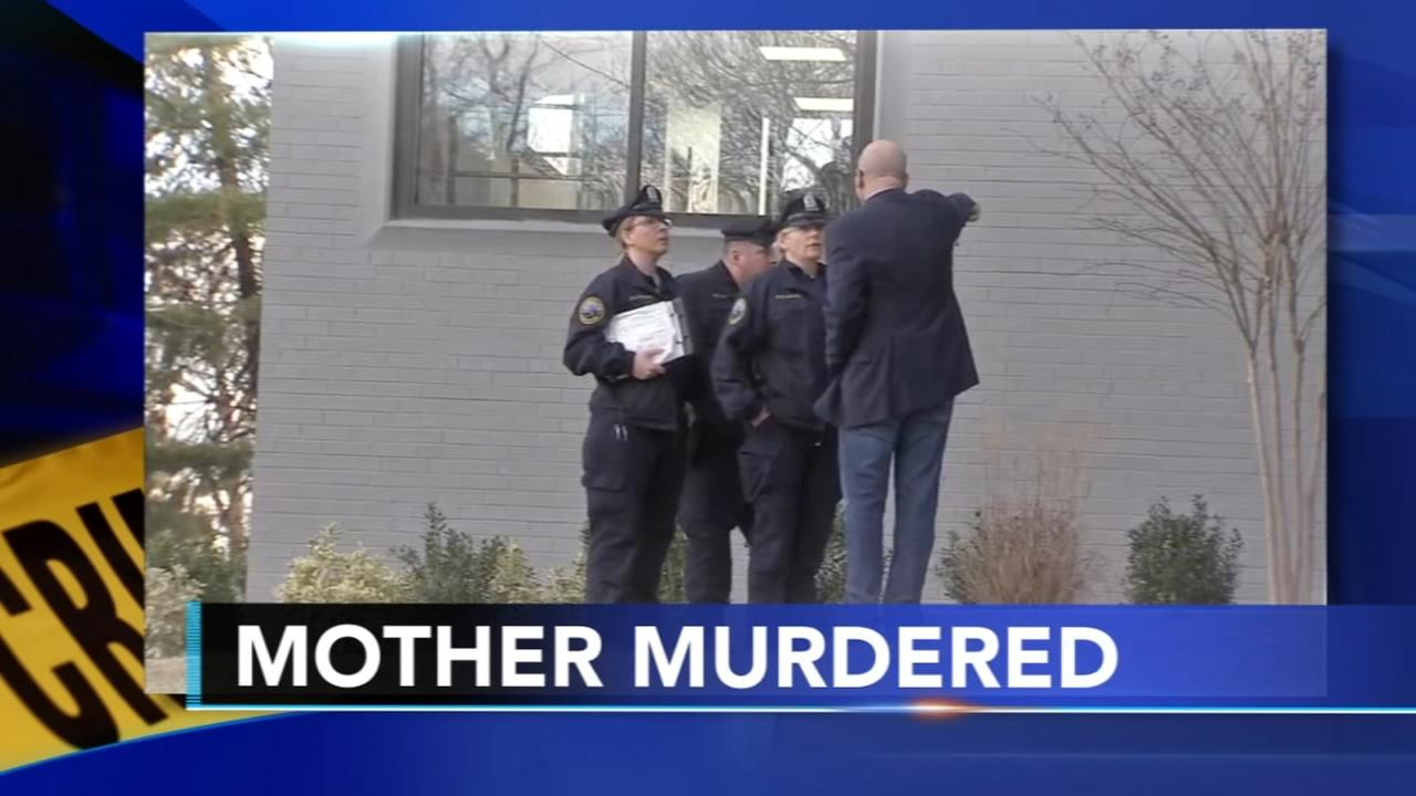 Police man murdered mother lived with body for days
