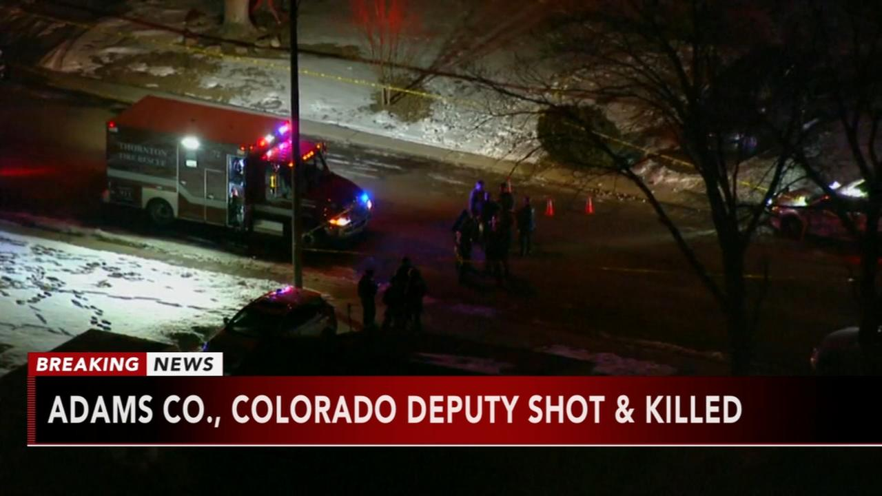 Sheriffs deputy killed near Denver