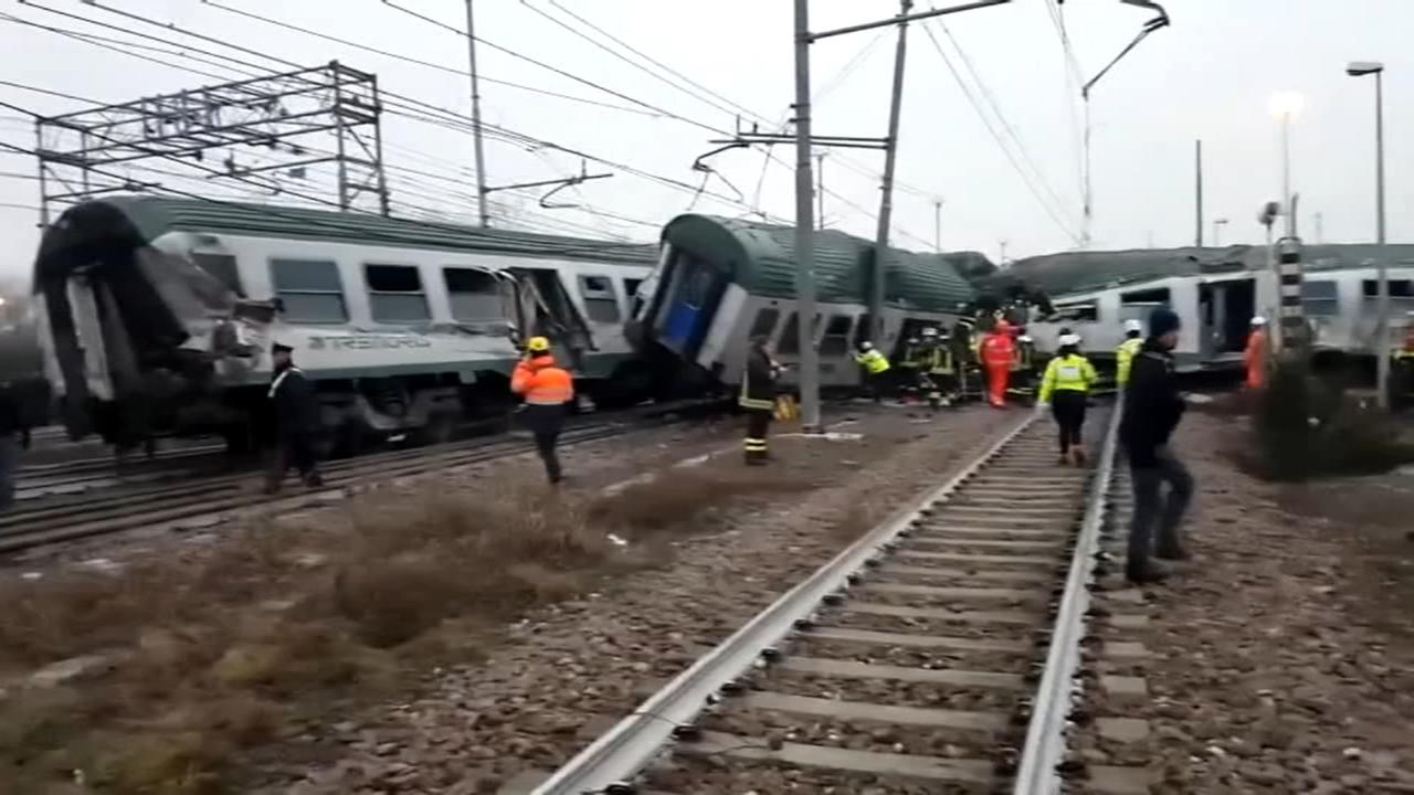 Deadly train crash in Italy