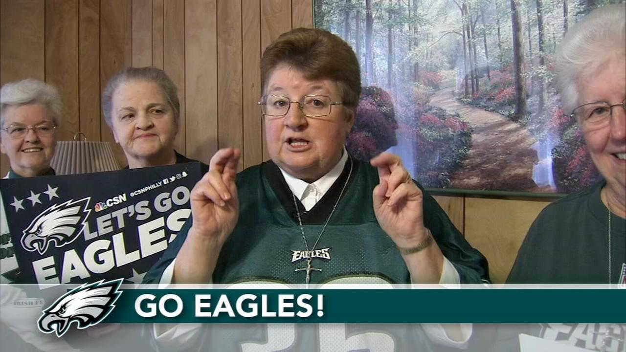 VIDEO: Sister Virginias Super Bowl prediction