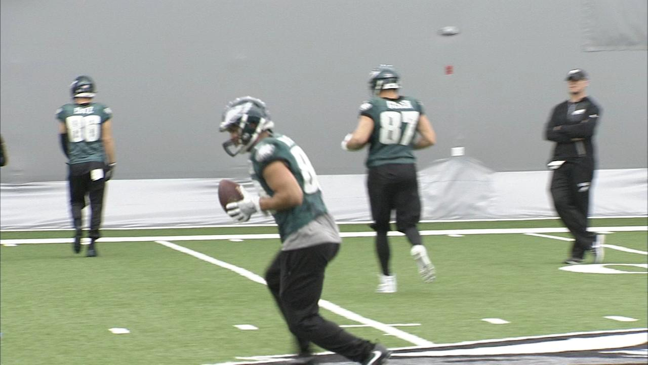 Eagles final practice before heading to Super Bowl LII