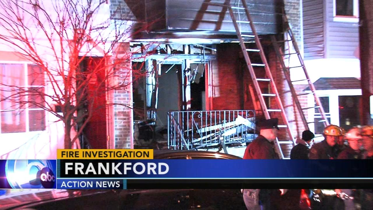 Teenager injured in Frankford apartment fire
