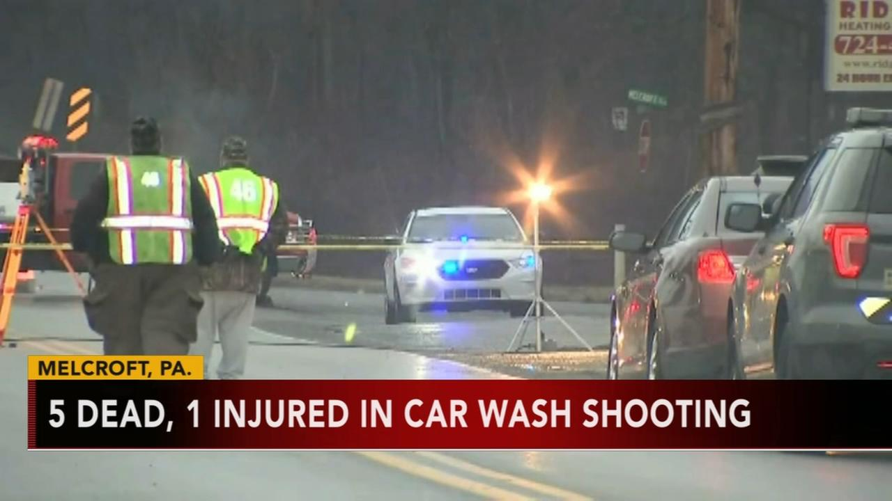 5 dead in Pa. car wash shooting