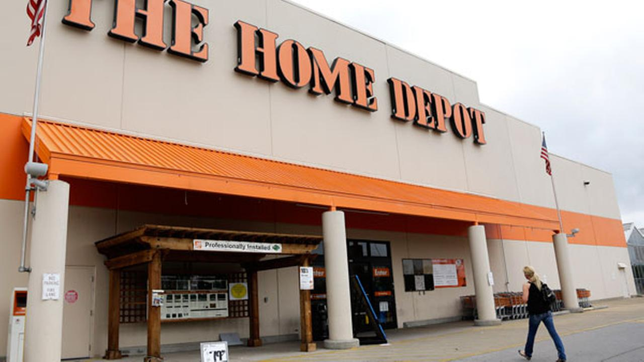 This Aug. 14, 2012 file photo shows a Home Depot store in Nashville, Tenn.