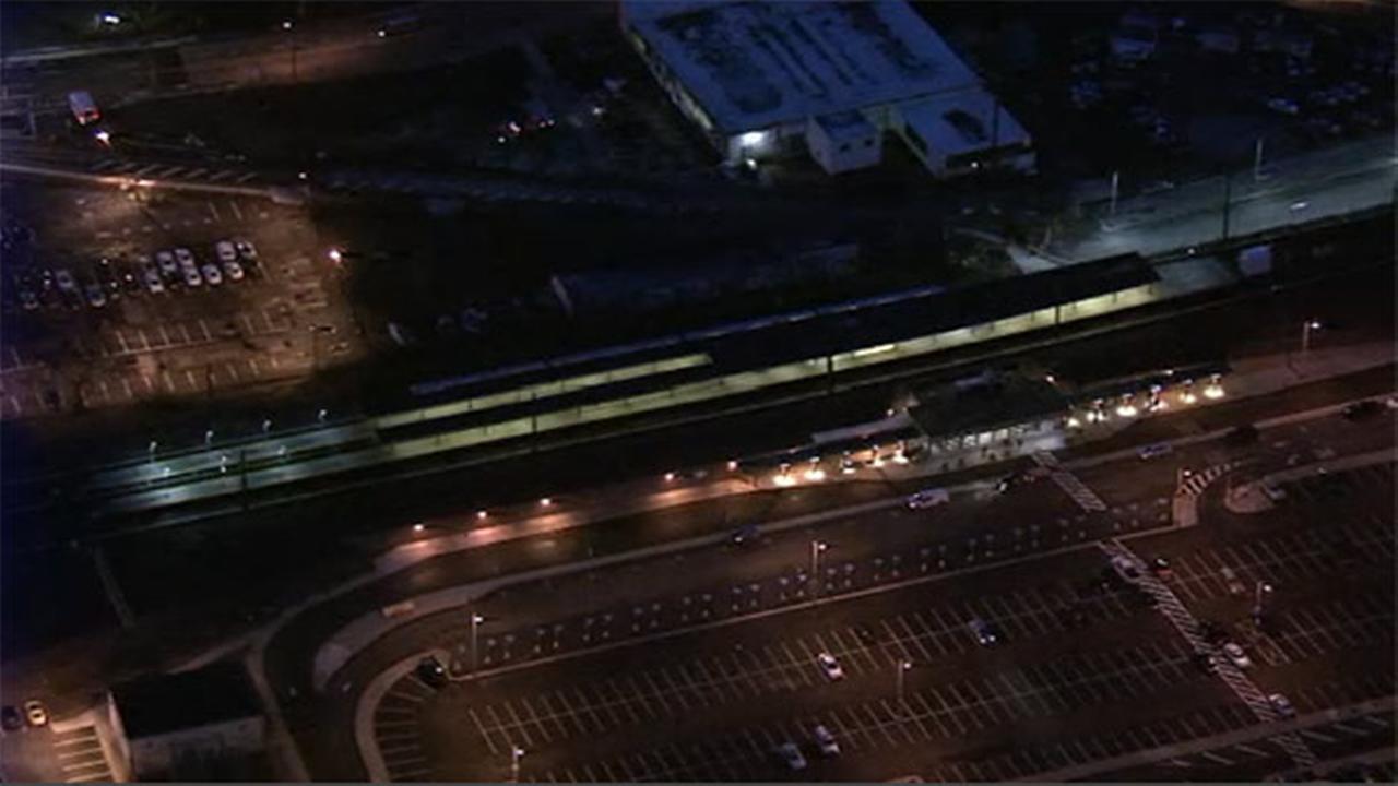 PATCO train hits utility pole, causes rush hour havoc