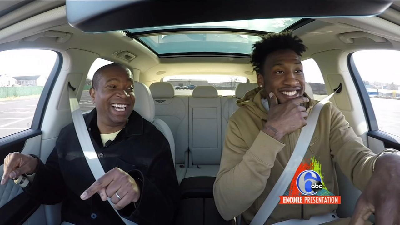 2018 Auto Show: Riding around with 76ers forward Robert Covington