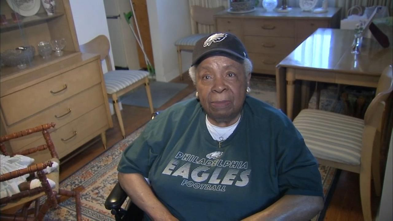 98-year-old Eagles fan ready for a Super Bowl win