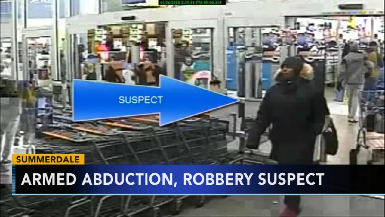 Woman sought for abduction, robbery in Summerdale