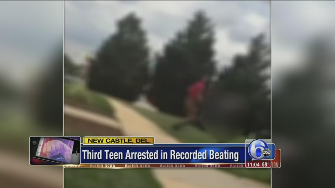VIDEO: 3rd teen arrested in recorded beating