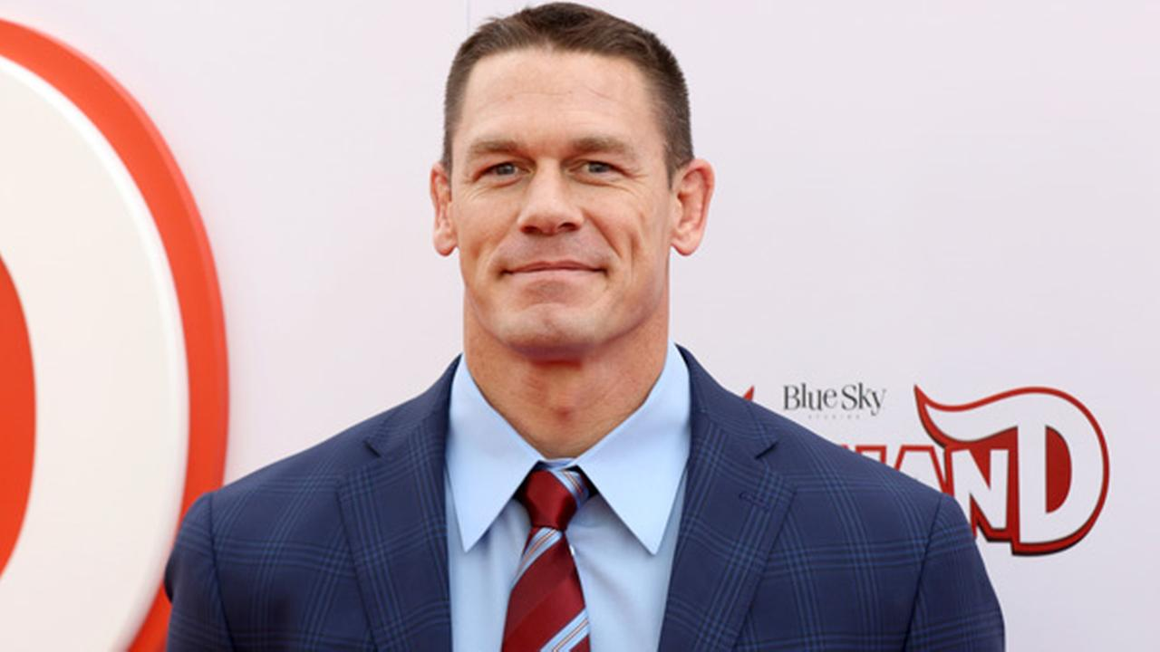 John Cena arrives at the LA Premiere of Ferdinand at the 20th Century Fox Studio Lot on Sunday, Dec. 10, 2017, in Los Angeles.