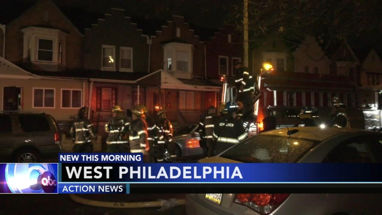 7 displaced in West Philadelphia fire