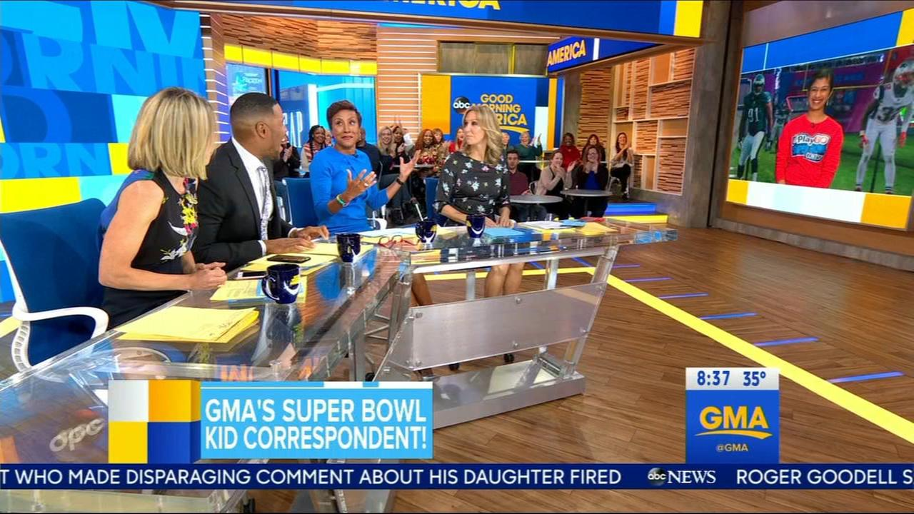 GMA studio audience strongly behind Eagles