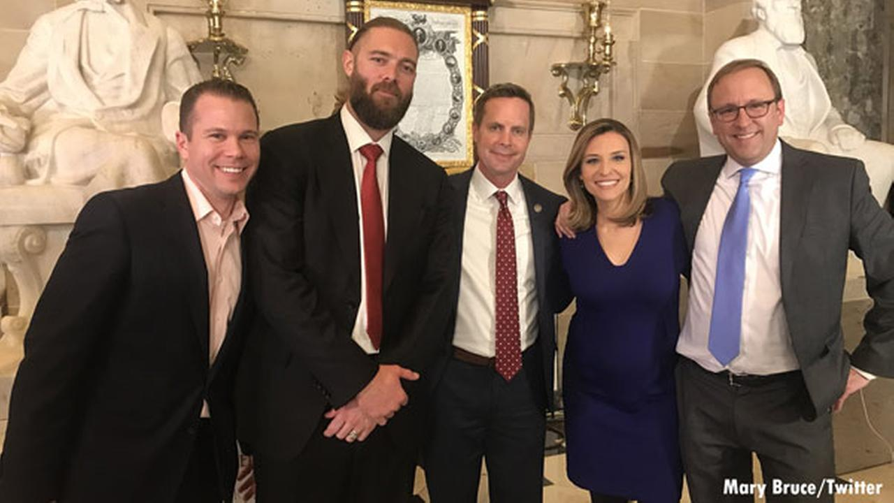 Fmr. Phillies outfielder Jayson Werth attends State of the Union