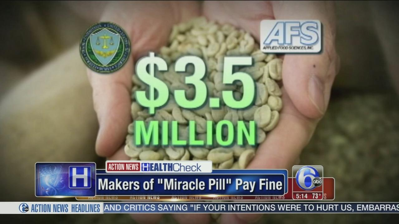 VIDEO: Makers of Miracle Pill pay hefty fine