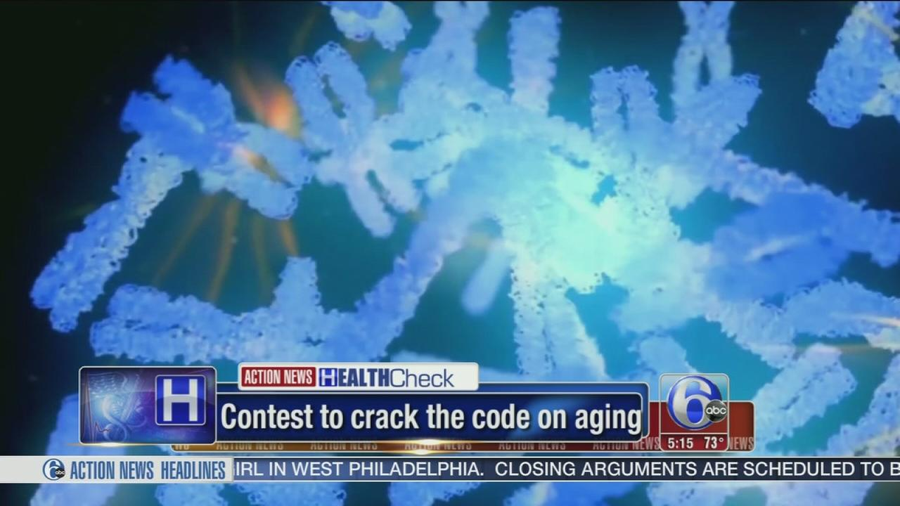 VIDEO: Contest to crack the code on aging