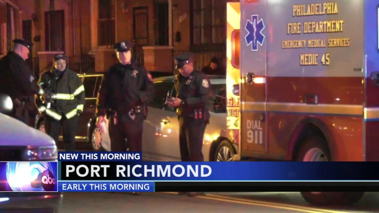 Ambulance involved in Port Richmond crash