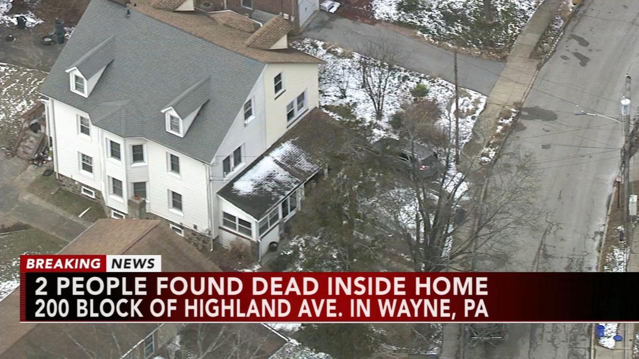 2 found dead inside home in Wayne, Pa.