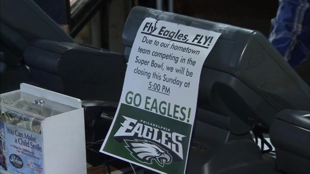 Several businesses closing early Super Bowl night