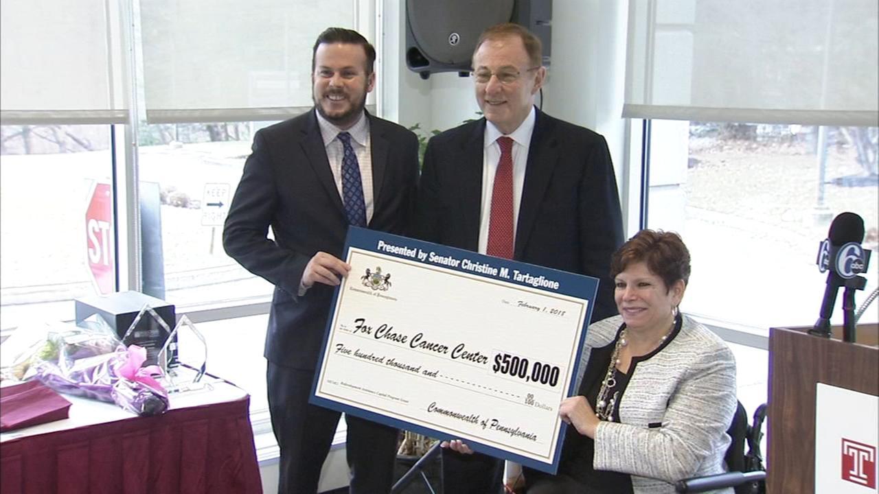Fox Chase Cancer Center awarded grant