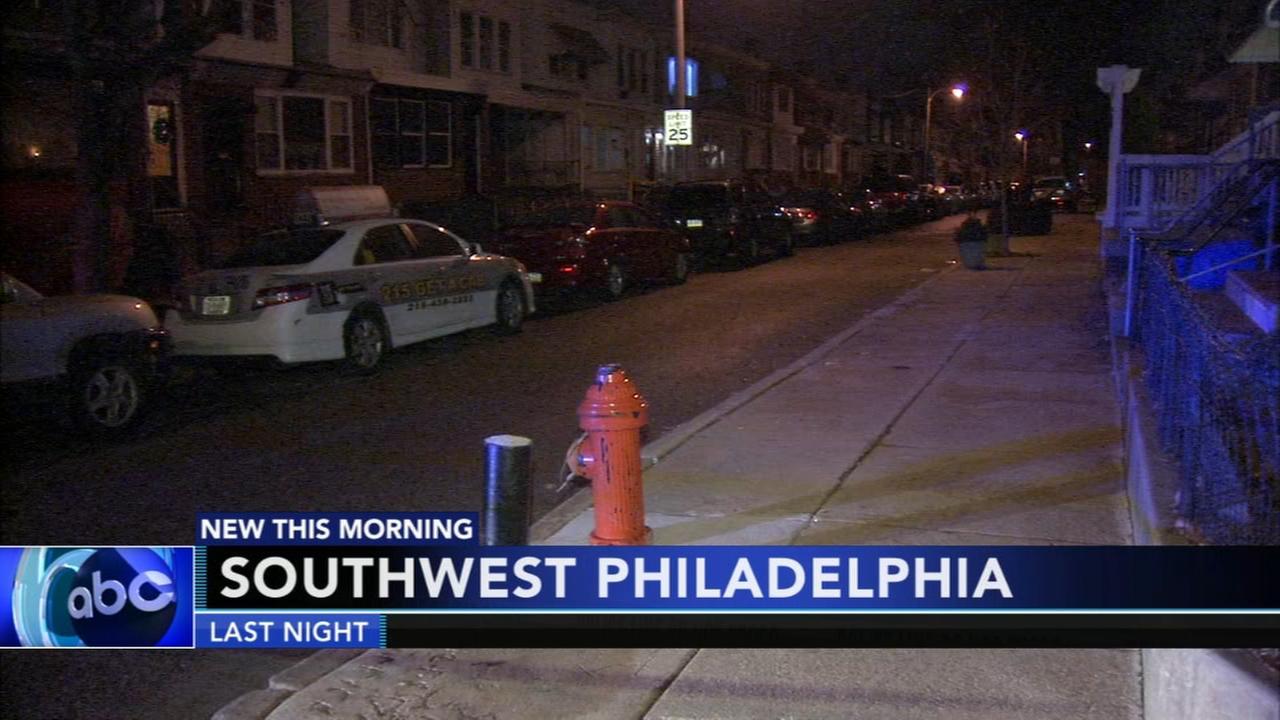 Woman shot in stomach in SW Philadelphia