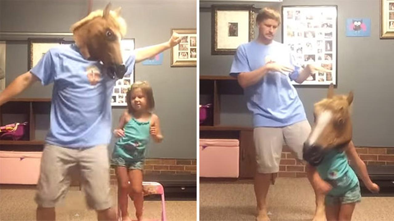 Daddy, daughter dance off to Shake It Off