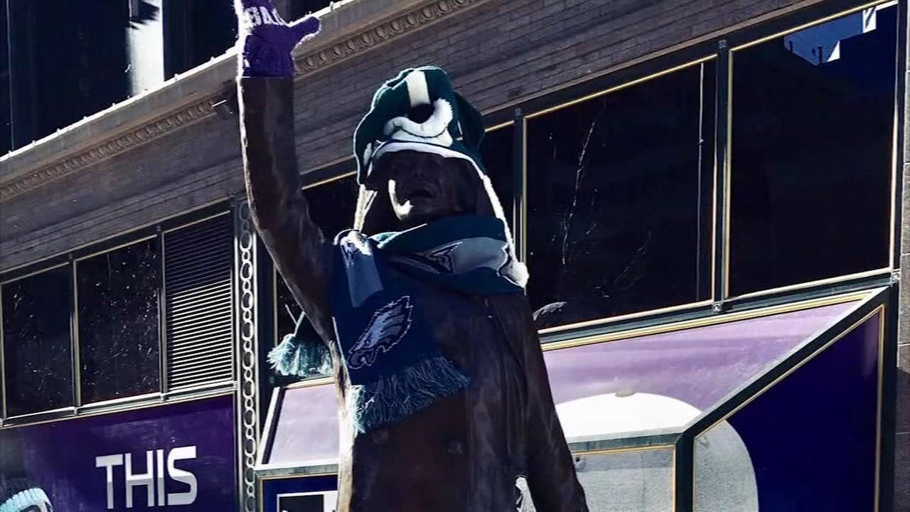Eagles fans make their mark in Minnesota