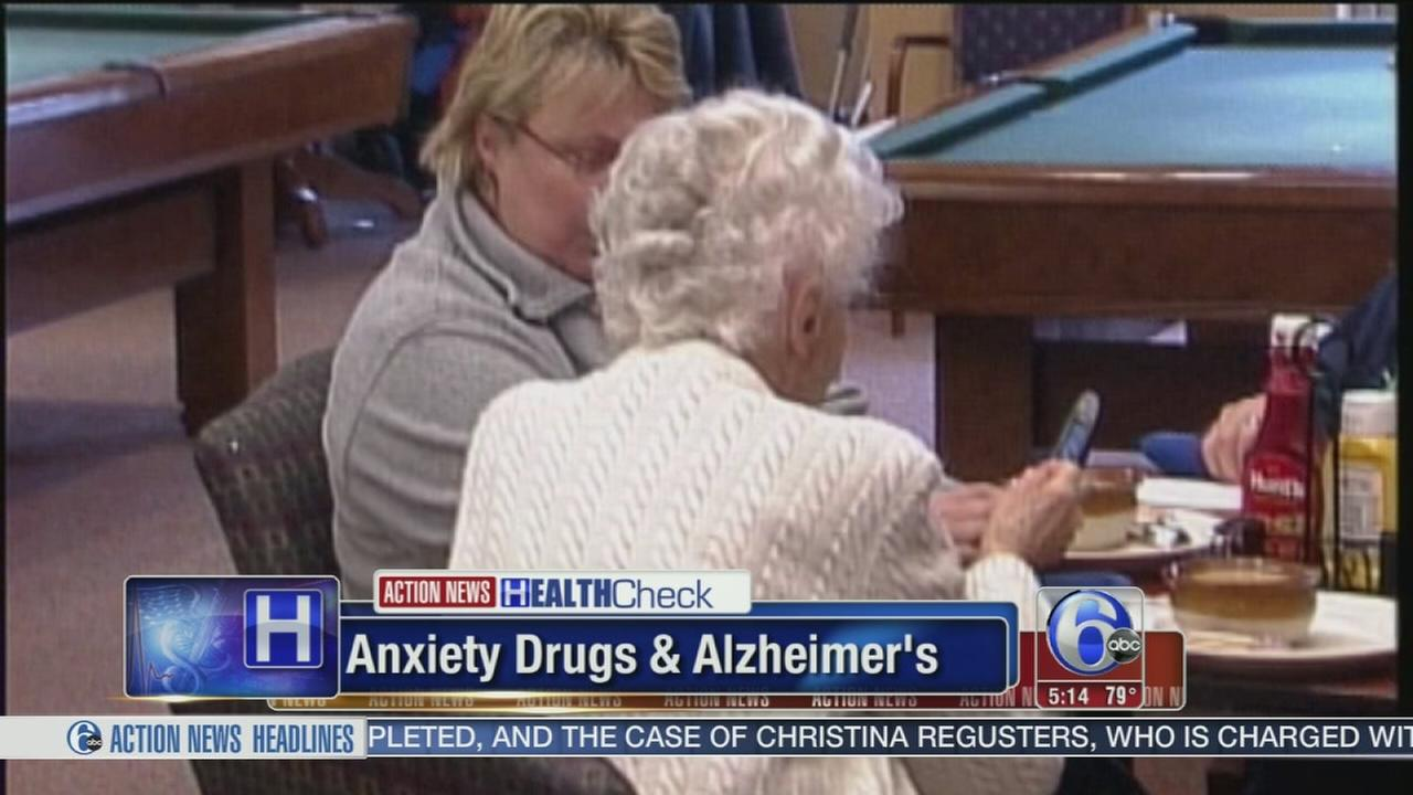 VIDEO: Anxiety drugs linked to Alzheimers