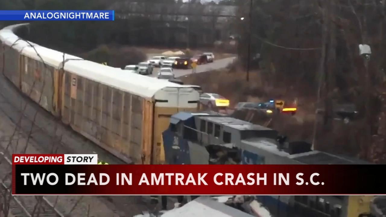 Deadly Amtrak crash in South Carolina