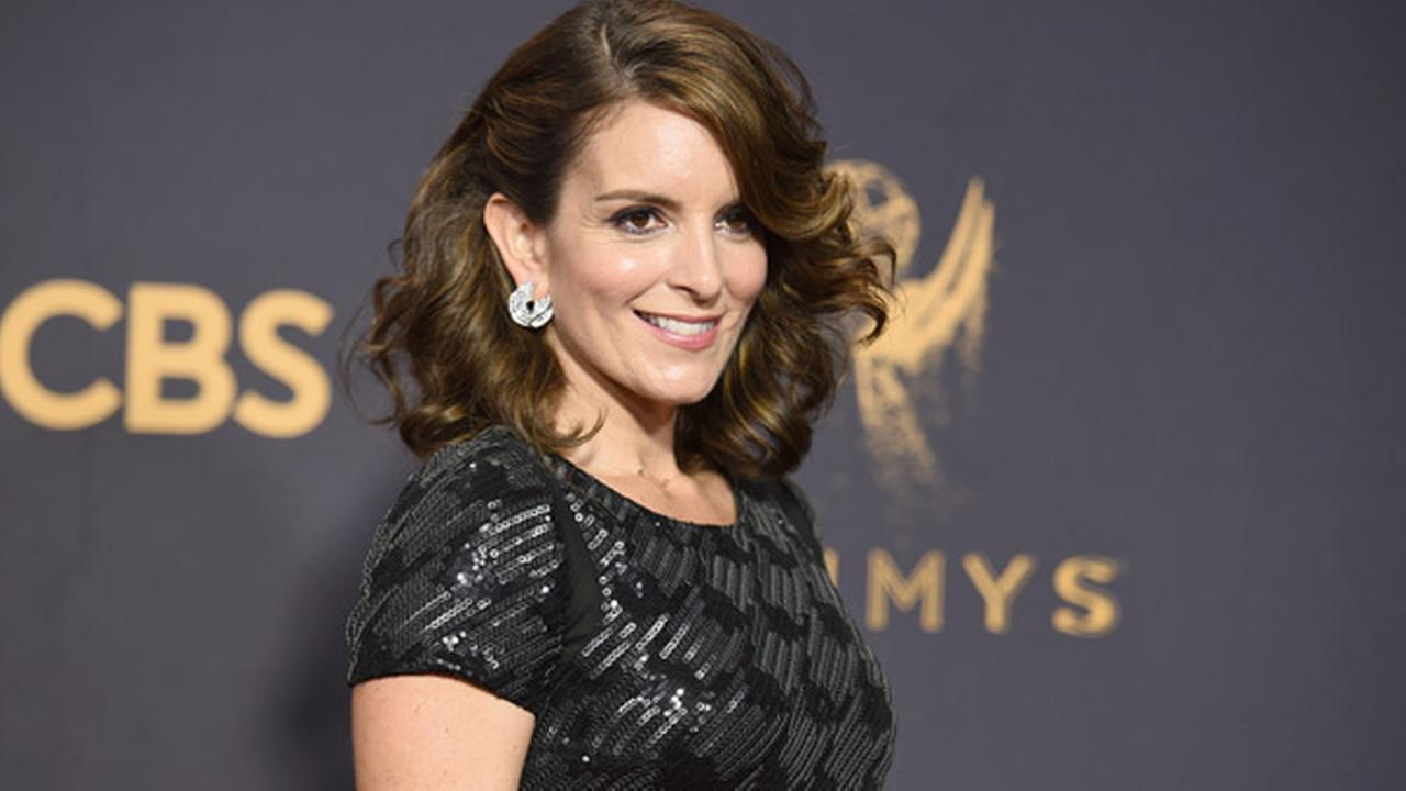 Tina Fey arrives at the 69th Primetime Emmy Awards on Sunday, Sept. 17, 2017, at the Microsoft Theater in Los Angeles.