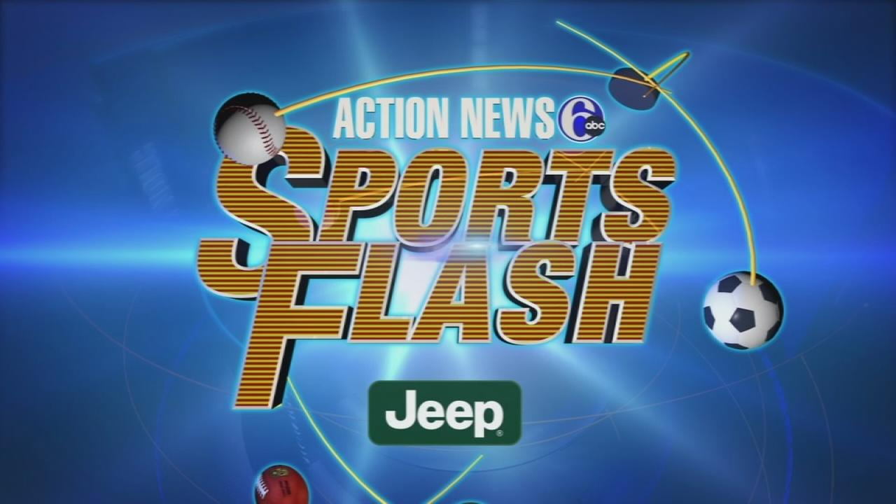 VIDEO: Action News Sports Flash: Wednesday September 10, 2014
