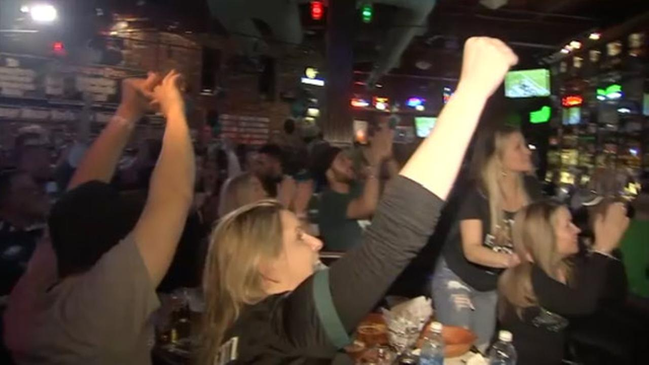The Action Cam was at Chickies and Petes in South Philadelphia as the Eagles won the Super Bowl on February 4, 2018.
