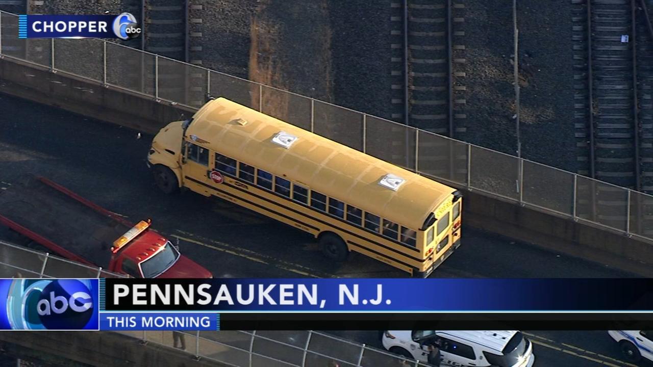 School bus crash in Pennsauken