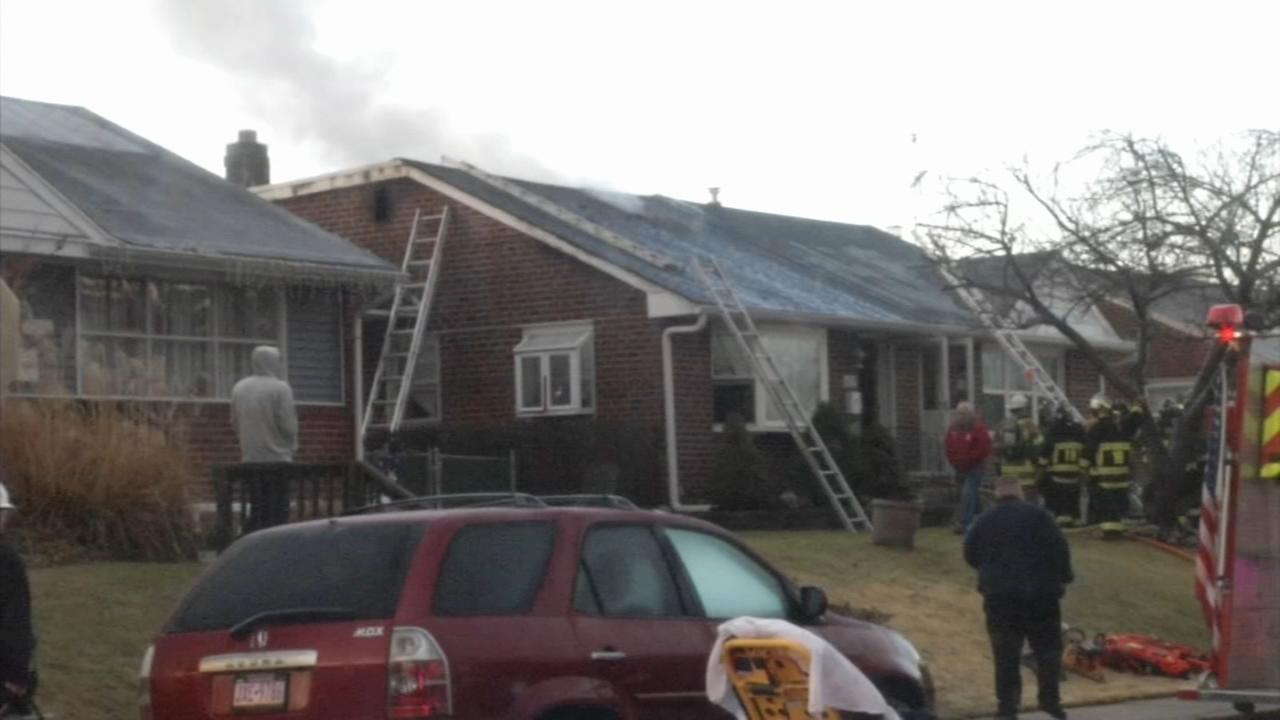 1 treated in Ridley fire