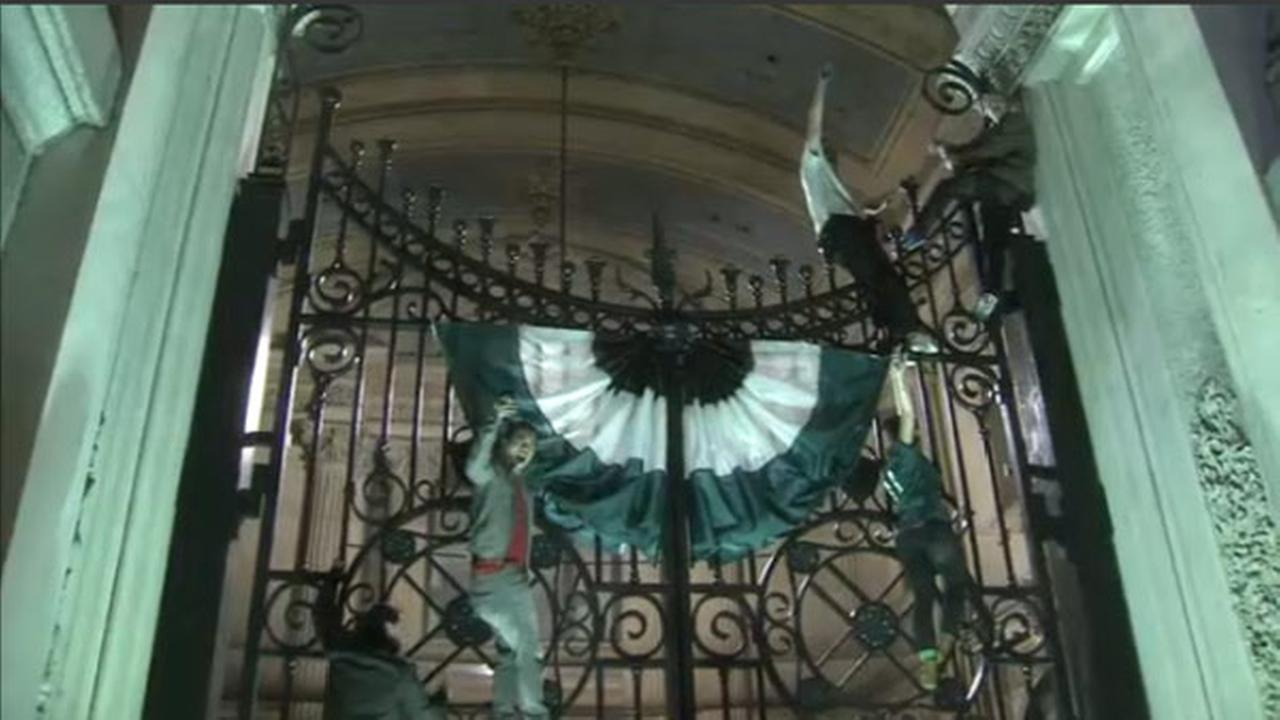 The Action Cam was there as Philadelphia Eagles fans celebrated in the streets following the teams Super Bowl victory on February 4, 2018.