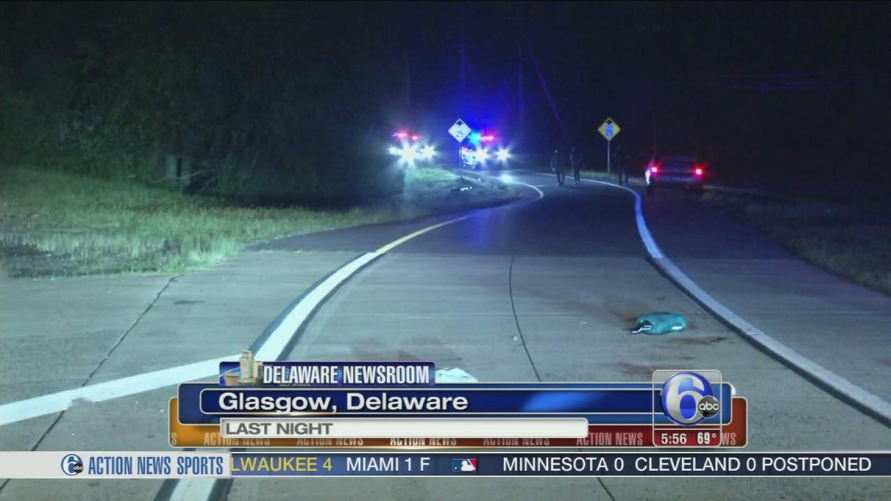 VIDEO: Man found shot on road in Delaware