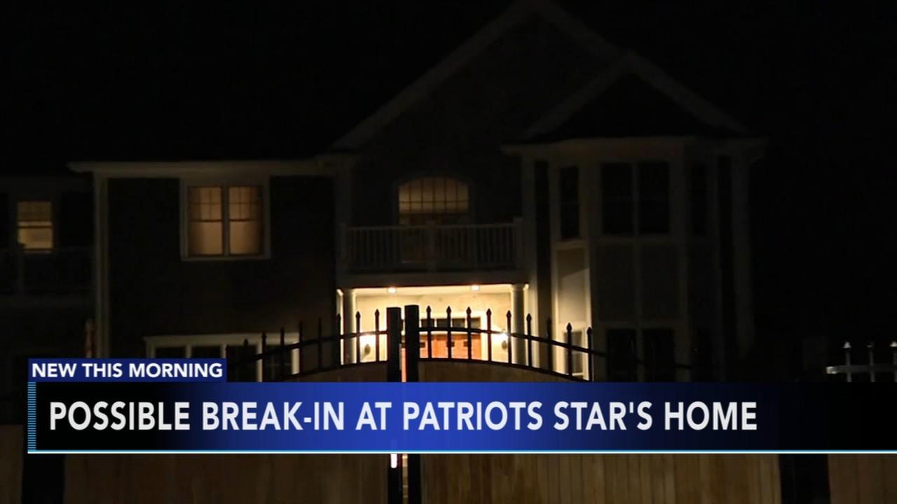 Possible break-in at Gronks house