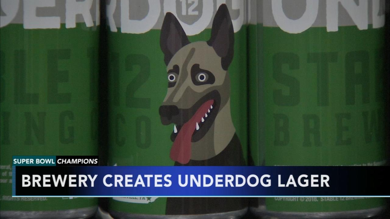 Local brewery creates Underdog lager