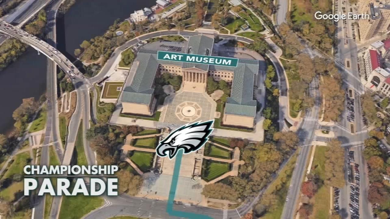 FULL DETAILS for Eagles Super Bowl parade and ceremony