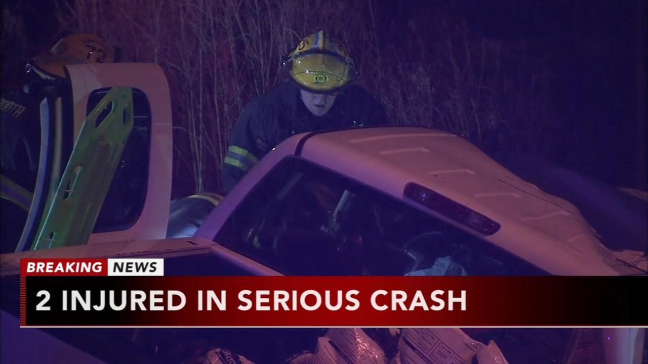 2 crashes on Roosevelt Expressway