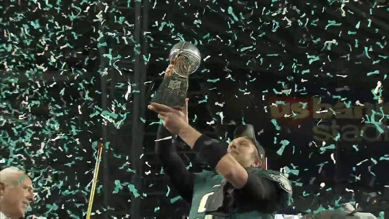 Sports Flash: Eagles Super Bowl victory