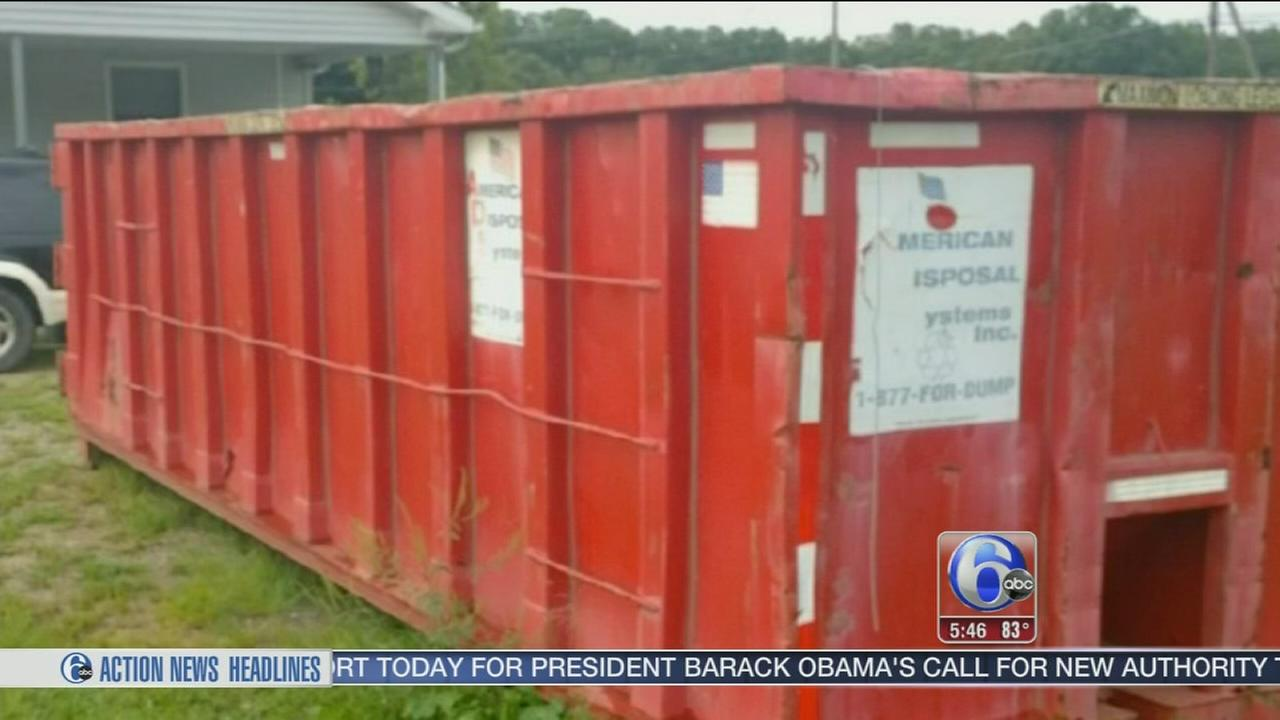 VIDEO: Dumpster that wouldnt leave