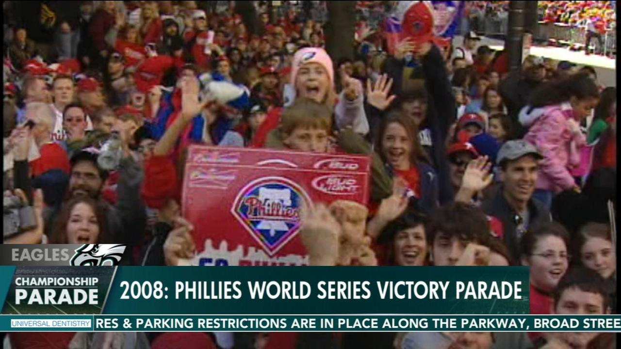 Looking back at Philadelphia sports parades
