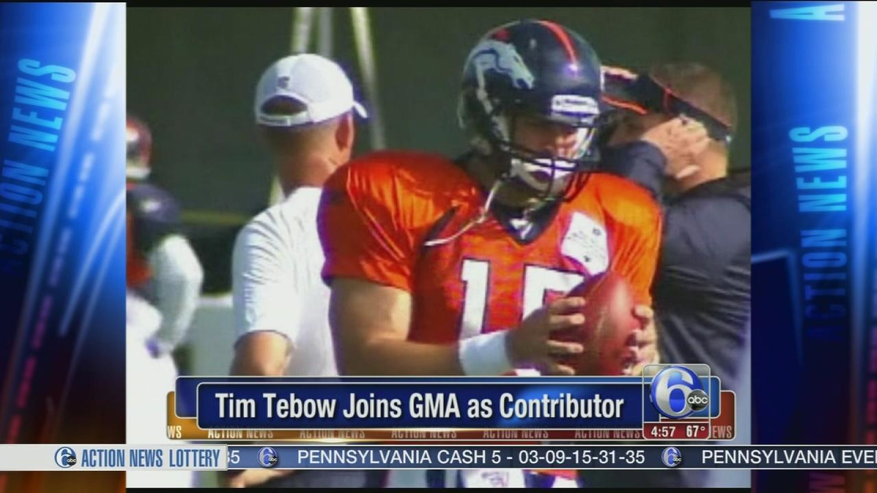 VIDEO: Tim Tebow joins GMA as contributor