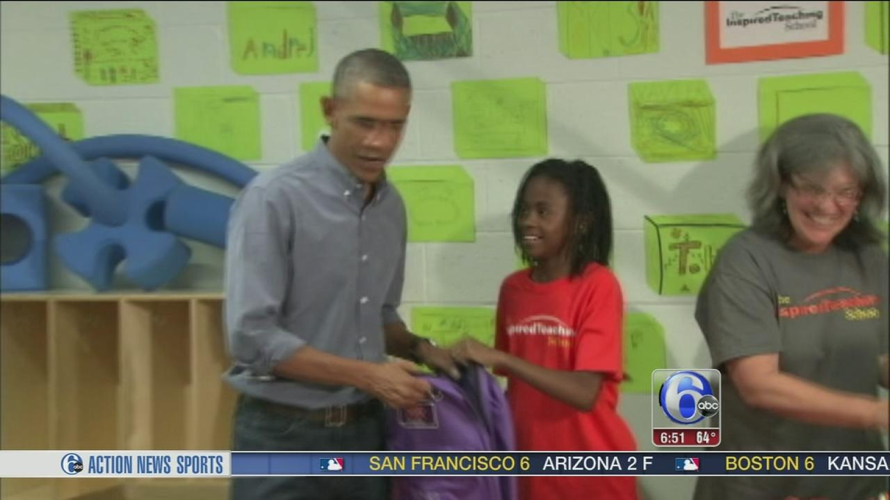VIDEO:Girl wishes President Obama was Beyonce