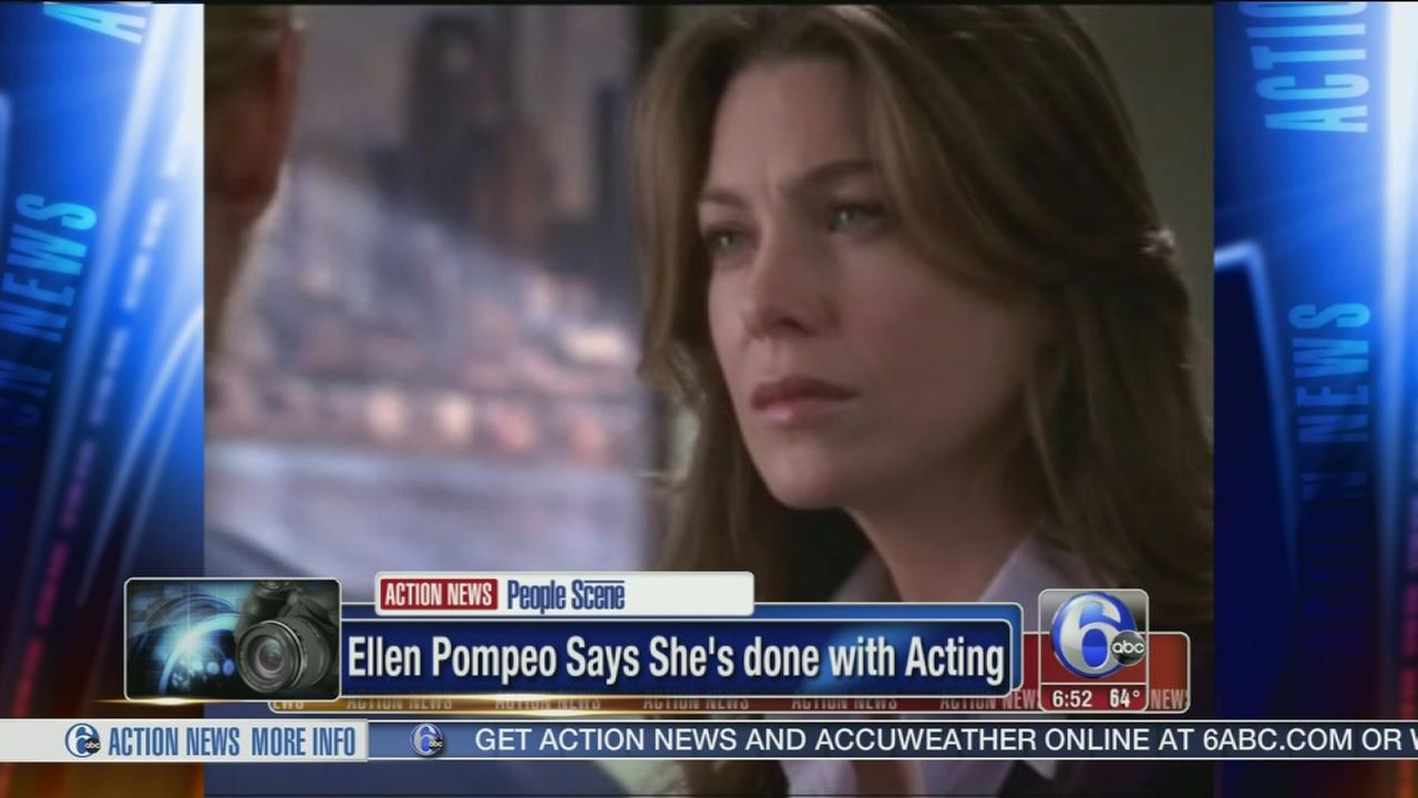 VIDEO: Ellen Pompeo says shes done with acting